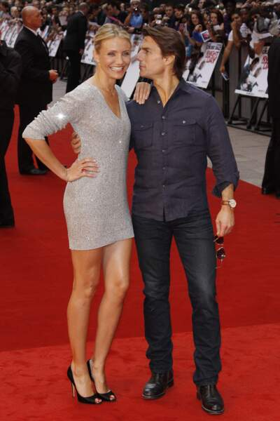 Tom Cruise et Cameron Diaz pour Night and Day en 2010
