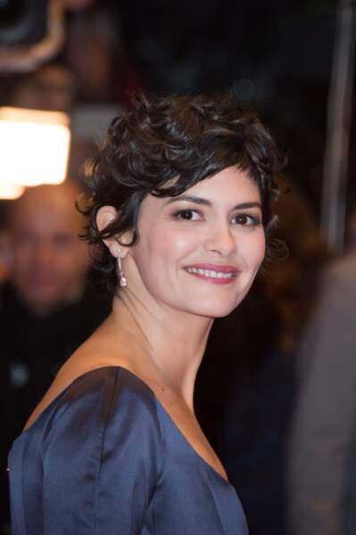Audrey Tautou au Festival International du film de Berlin le 5 février 2015