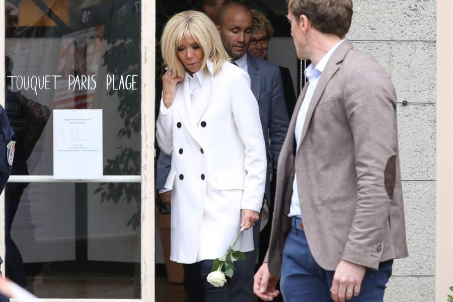 Brigitte Macron et Emmanuel Macron avaient décidé de passer le weekend dans leur villa du Touquet