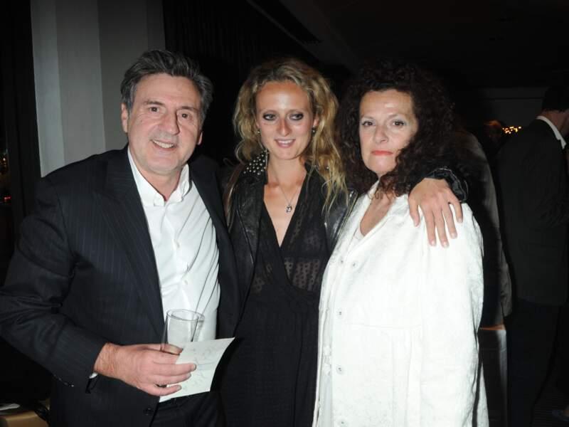 Daniel Auteuil, Anne Jousset et leur fille Aurore Auteuil