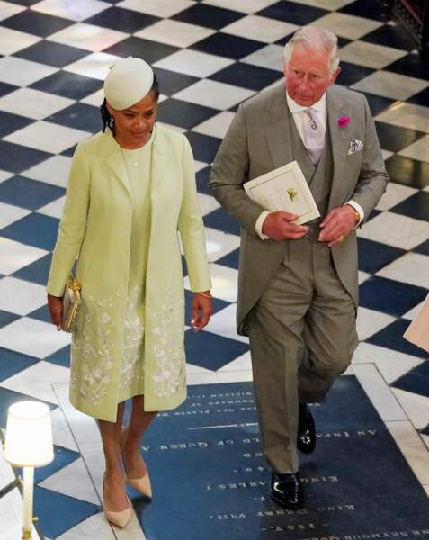 Doria Ragland aux côtés du prince Charles