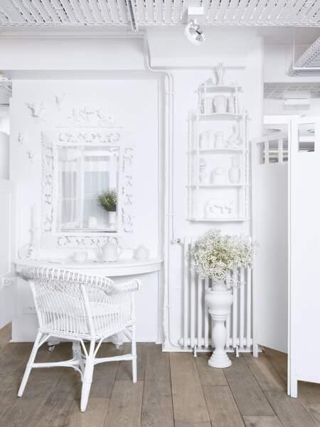 Le rendez-vous chic à l'Atelier Blanc