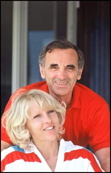 Charles Aznavour et sa femme Ulla (1982)