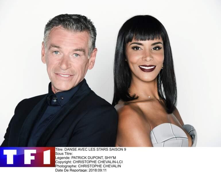 Shy'm et Patrick Dupond, deux des membres du jury de la saison 9 de Danse avec les Stars