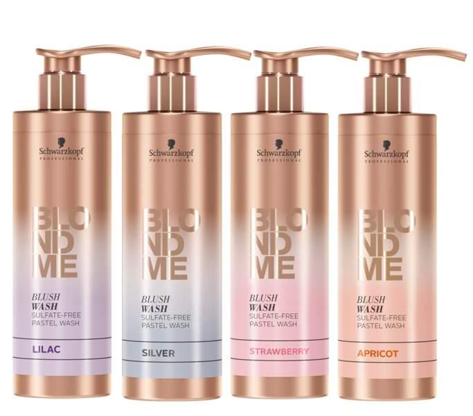 Des reflets pastel avec BlondMe Blush Wash Schwarzkopf Professional (En salon)