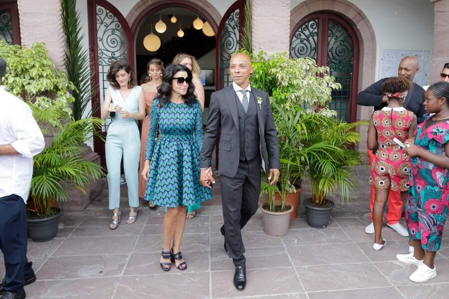 Les parents de la mariée: Nadia et Robin Kunakey, très émus