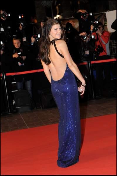 Fergie, lors de la soirée des NRJ Music Awards à Cannes en 2010