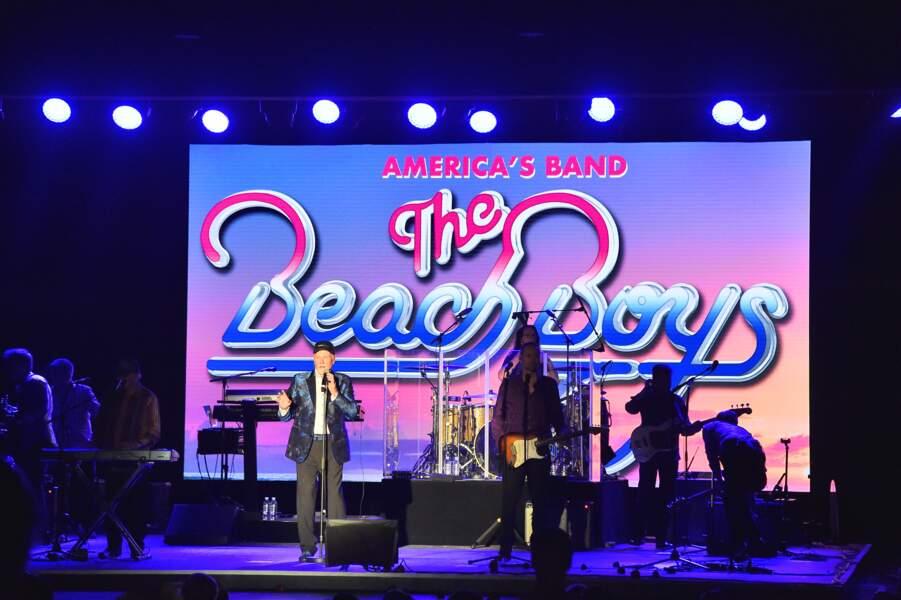 The Beach Boys en concert à la soirée Fight Aids à Monaco, le 13 juillet 2019.