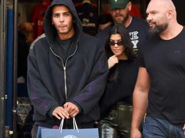 PHOTOS – Kourtney Kardashian de retour à Paris après l'agression de sa soeur avec son petit ami Younes Bendjima