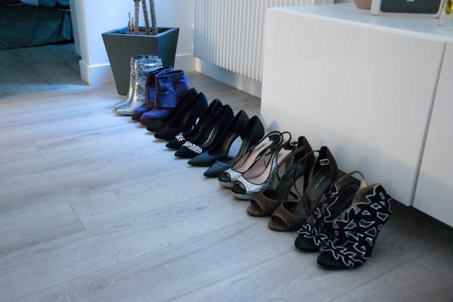Virginie Carrozza collectionne les chaussures à talons et ne porte jamais de plat