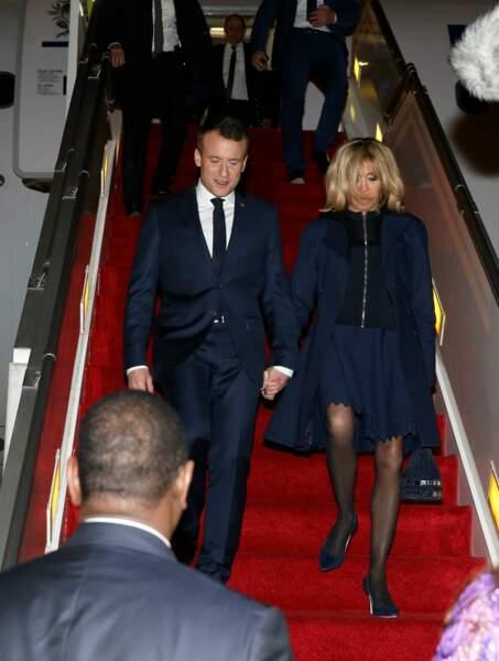 Emmanuel et Brigitte Macron, ultra chic