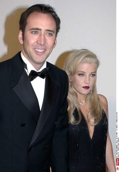 3 mois pour Nicolas Cage et Lisa Marie Presley