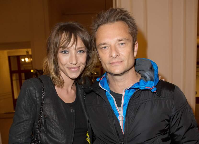Laura Smet et David Hallyday au Théâtre de Paris pour les 70 ans de Johnny Hallyday le 15 juin 2013