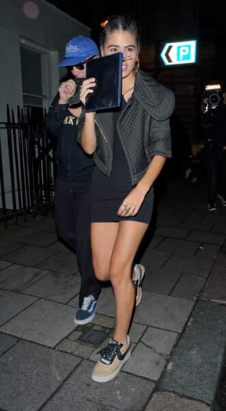 Rocco Ritchie à la sortie du Loulou's Nightclub à Londres