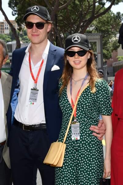 La princesse Alexandra de Hanovre et son compagnon Ben-Sylvester Strautmann le 26 mai 2018