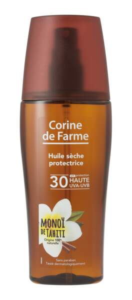 Huile Sèche Protectrice 30, 8,50 €