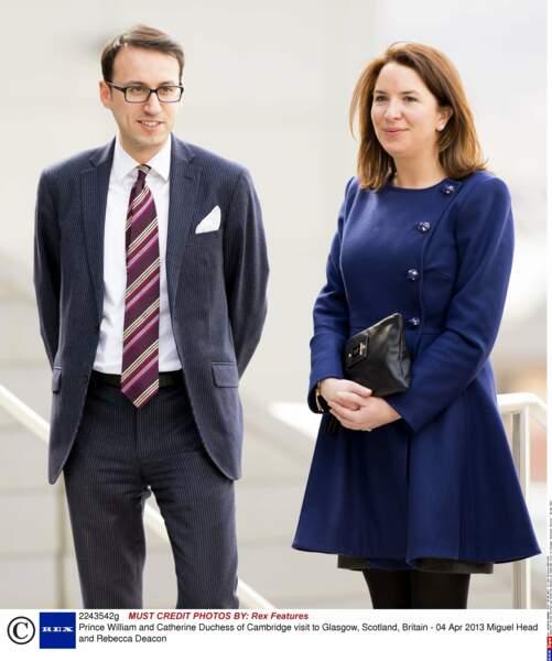Miguel Head et Rebecca Deacon