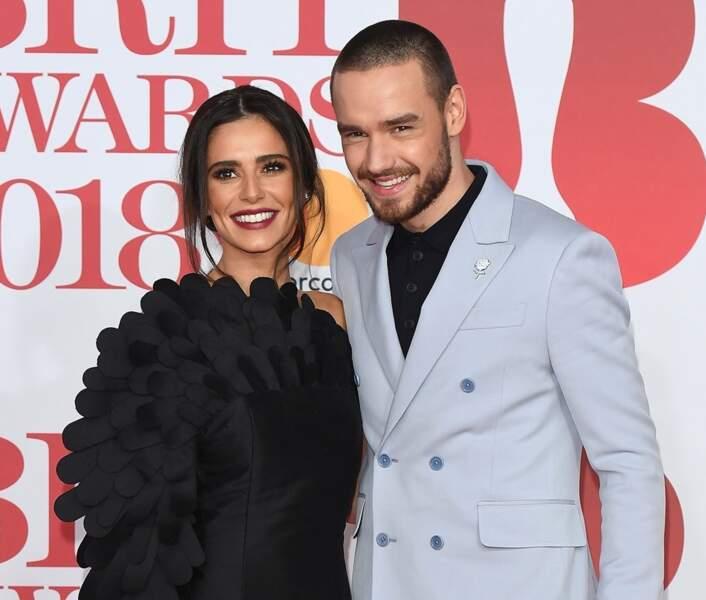 La chanteuse Cheryl Cole (34 ans) et son compagnon Liam Payne (24 ans)