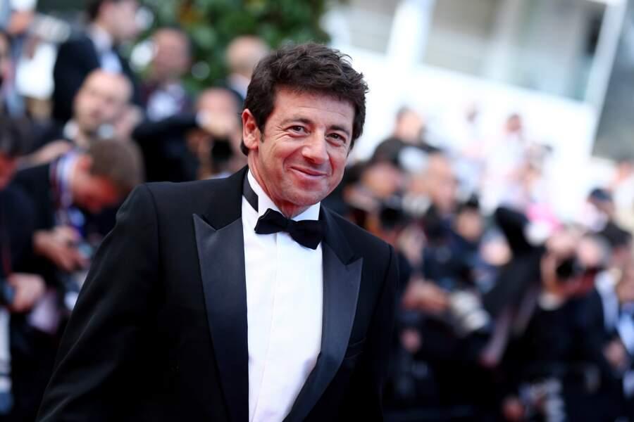 Patrick Bruel au festival de Cannes, en 2012