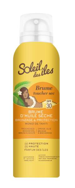 Brume Toucher sec monoï de Tahiti, Soleil des îles, 10, 90 €