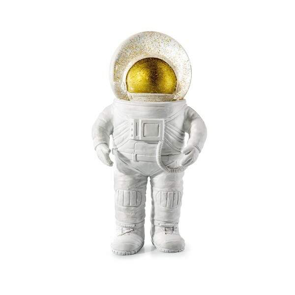 Boule à neige astronaute, 29,95 €, Donkey en vente chez Publicis Drugstore.