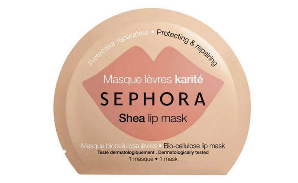 Masque Lèvres Karité de Sephora, 2,99 €
