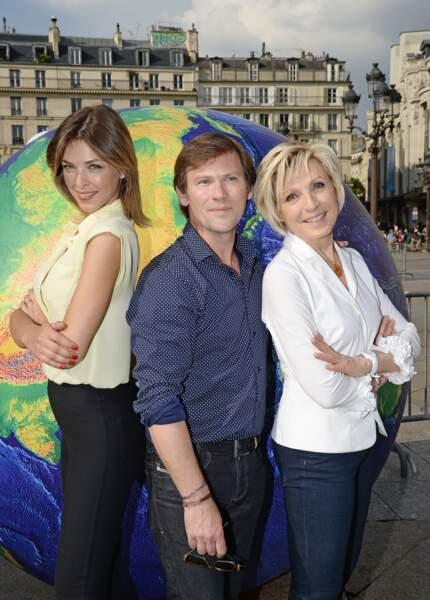Eléonore Boccara, Laurent Romejko et Evelyne Dhéliat