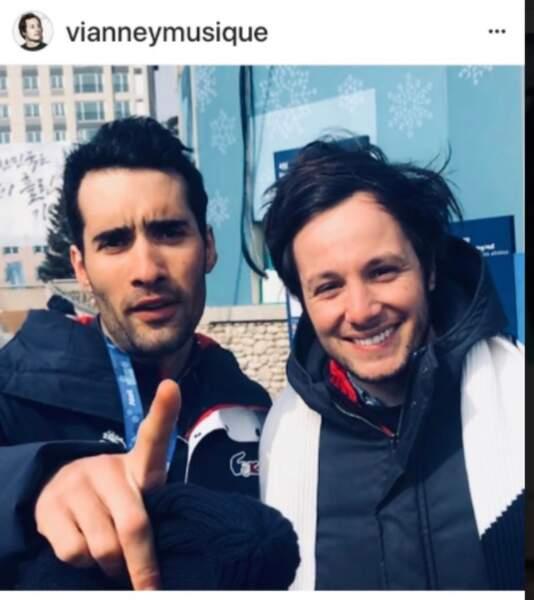 Vianney et Martin Fourcade