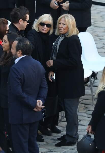 Seda Aznavour, la fille aînée de Charles Aznavour lors de l'hommage national à Charles Aznavour