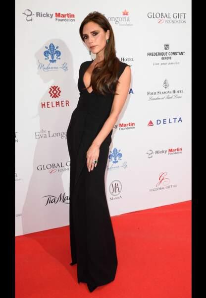 Victoria Beckham, ambassadrice de charme de sa griffe éponyme