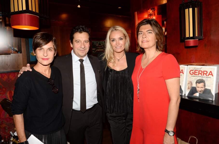 Parmi les invités de Laurent Gerra, Catherine Battner et Christelle Bardet, compagne de l'humoriste