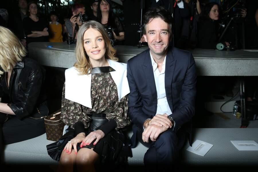 Natalia Vodianona et son compagnon et compagnon Antoine Arnault