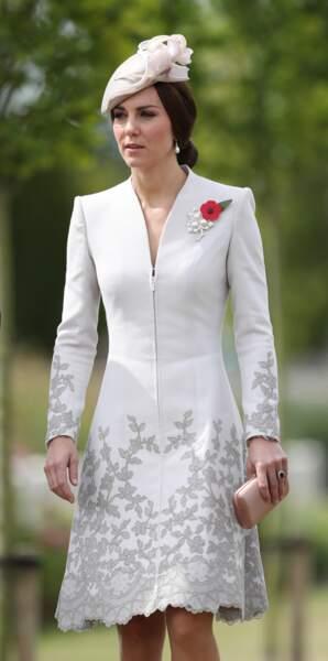 Le chignon bas royal de Kate Middleton
