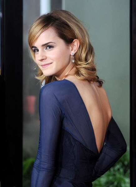 Emma Watson a 18 ans, une jolie jeune fille très élégante en 2008