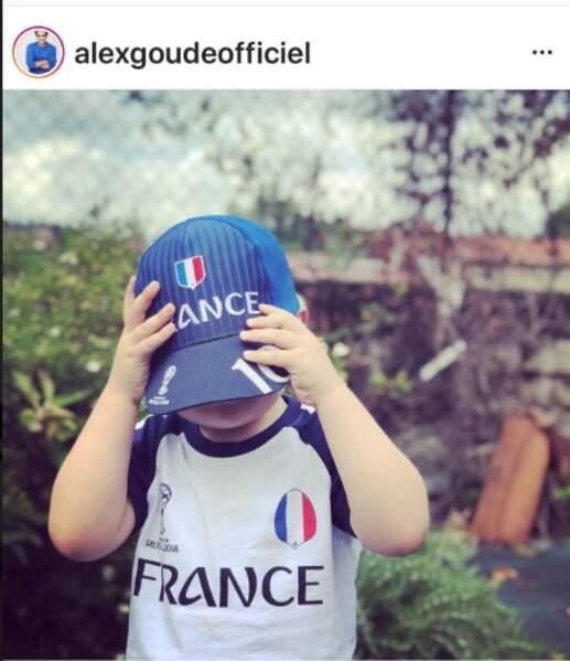 Elliot, le fils d'Alex Goude