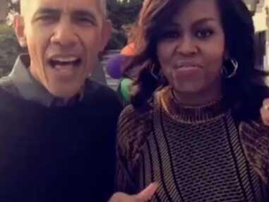 Dernier Halloween des Obama