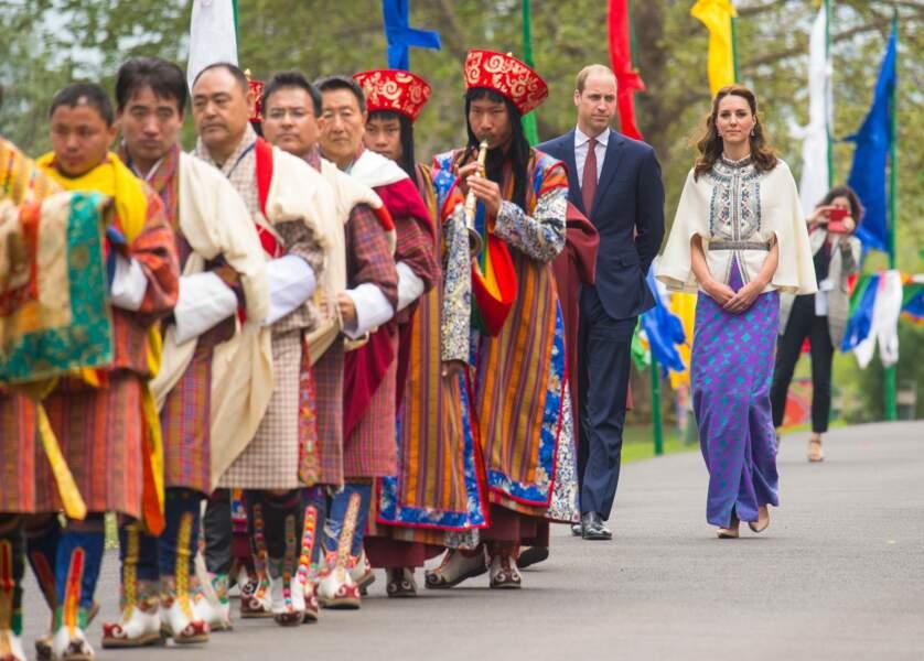 Catherine et le prince William lors d'une cérémonie royale