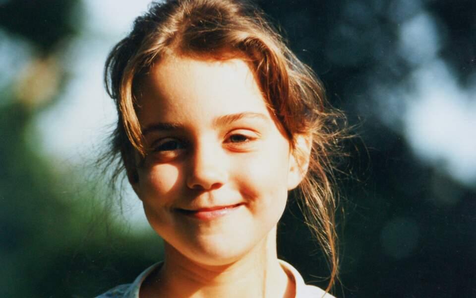 Kate Middleton à l'âge de 5 ans