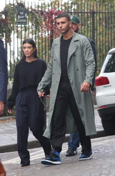 Kourtney Kardashian (38 ans) et son boyfriend Younes Bendjima (24 ans)