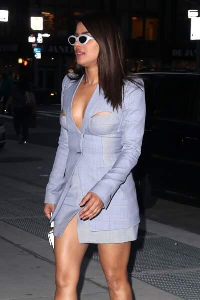 Priyanka Chopra se rend à une soirée à New York, le 2 mai 2018