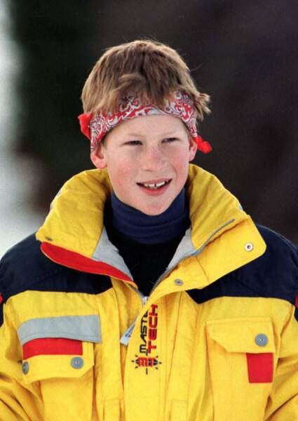 Le prince Harry à l'aube de ses 14 ans
