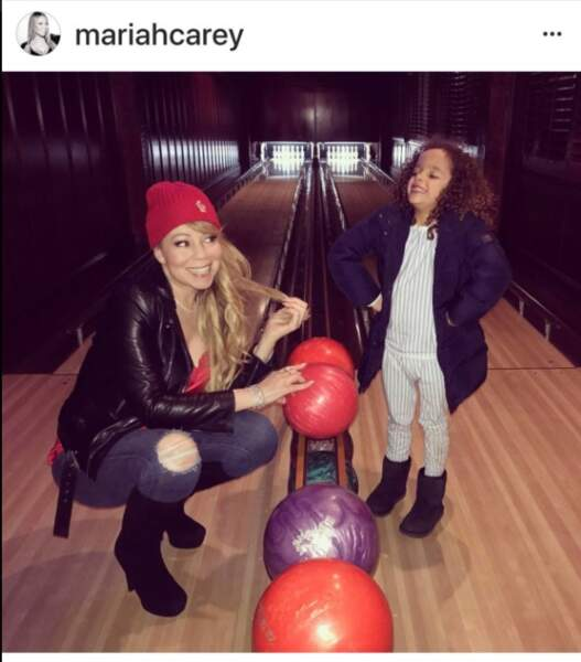 Mariah Carey et son fils Moroccan