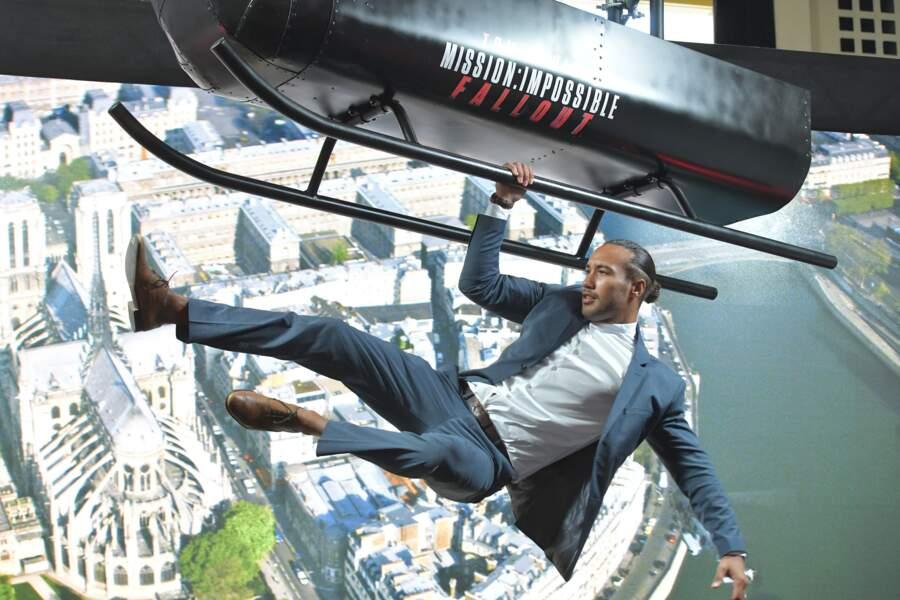 On dirait bien que Laurent Maistret se prend pour Tom Cruise...