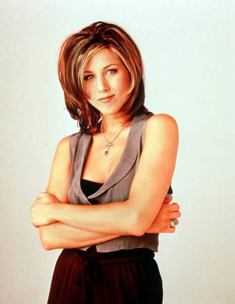Jennifer Aniston en 1994 pour la première saison de Friends
