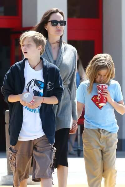 Shiloh Jolie-Pitt, ici en août 2017, a fait ses débuts au cinéma à l'âge de 2 ans