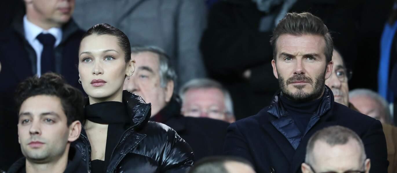 Bella Hadid et David Beckham