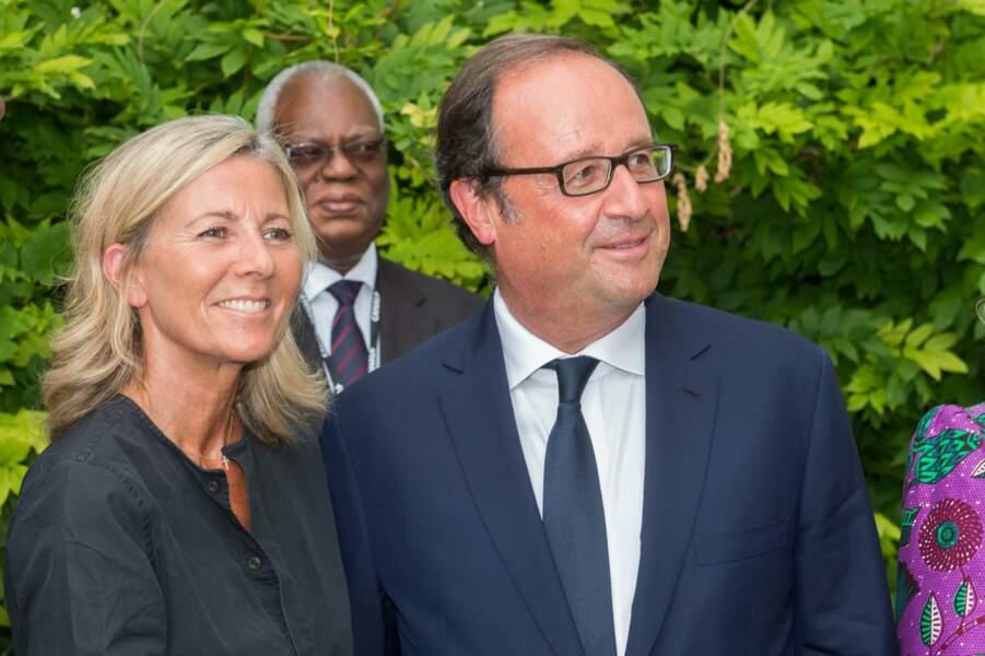 Francois Hollande avec Claire Chazal