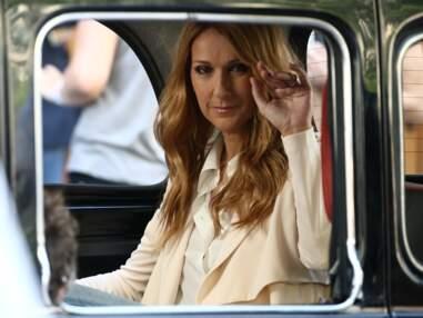 Céline Dion en tournage à Paris