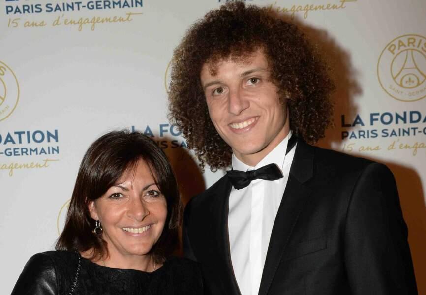 Anne Hidalgo et David Luiz