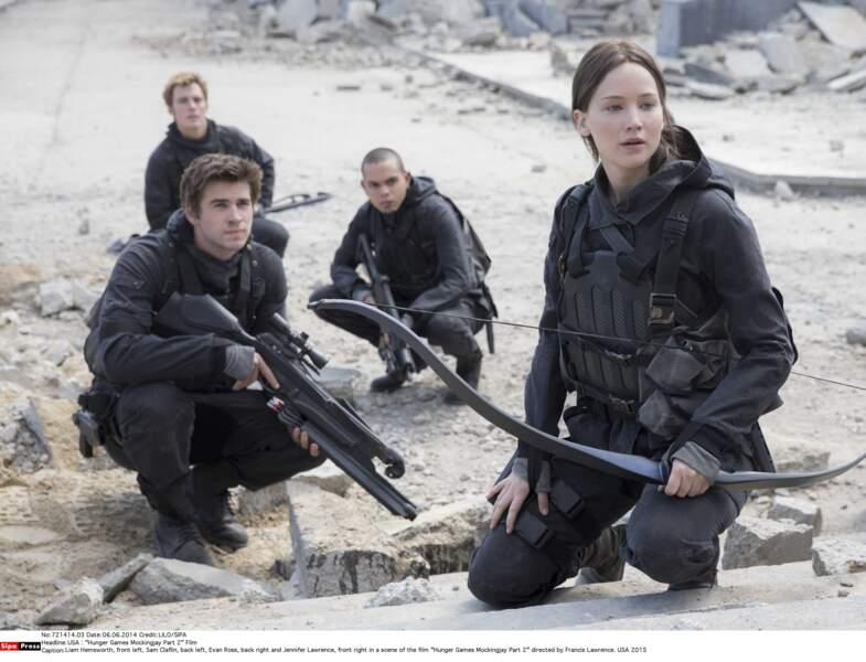 Jennifer Lawrence dans Hunger Games